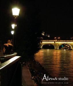 La ville de Paris - Quai des amoureux