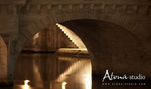 La ville de Paris - Sous le pont
