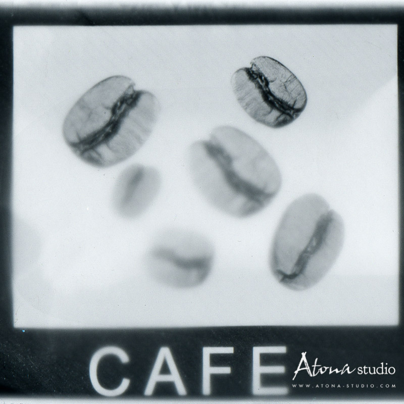 Photogramme coffeegramme white