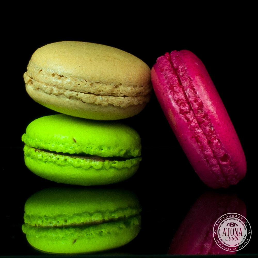 Shooting professionnel 123 Macarons