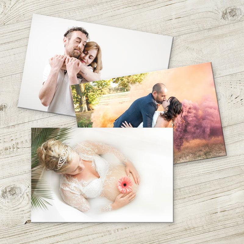 Tirages photos contre collage