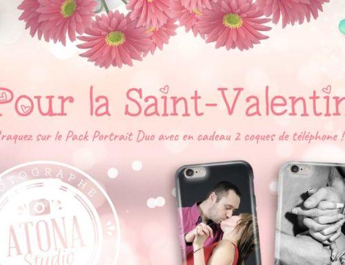Offre : Craquez pour une séance photo à la Saint-Valentin !