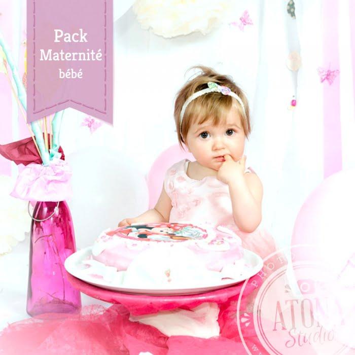Pack Atona Studio Maternité bébé
