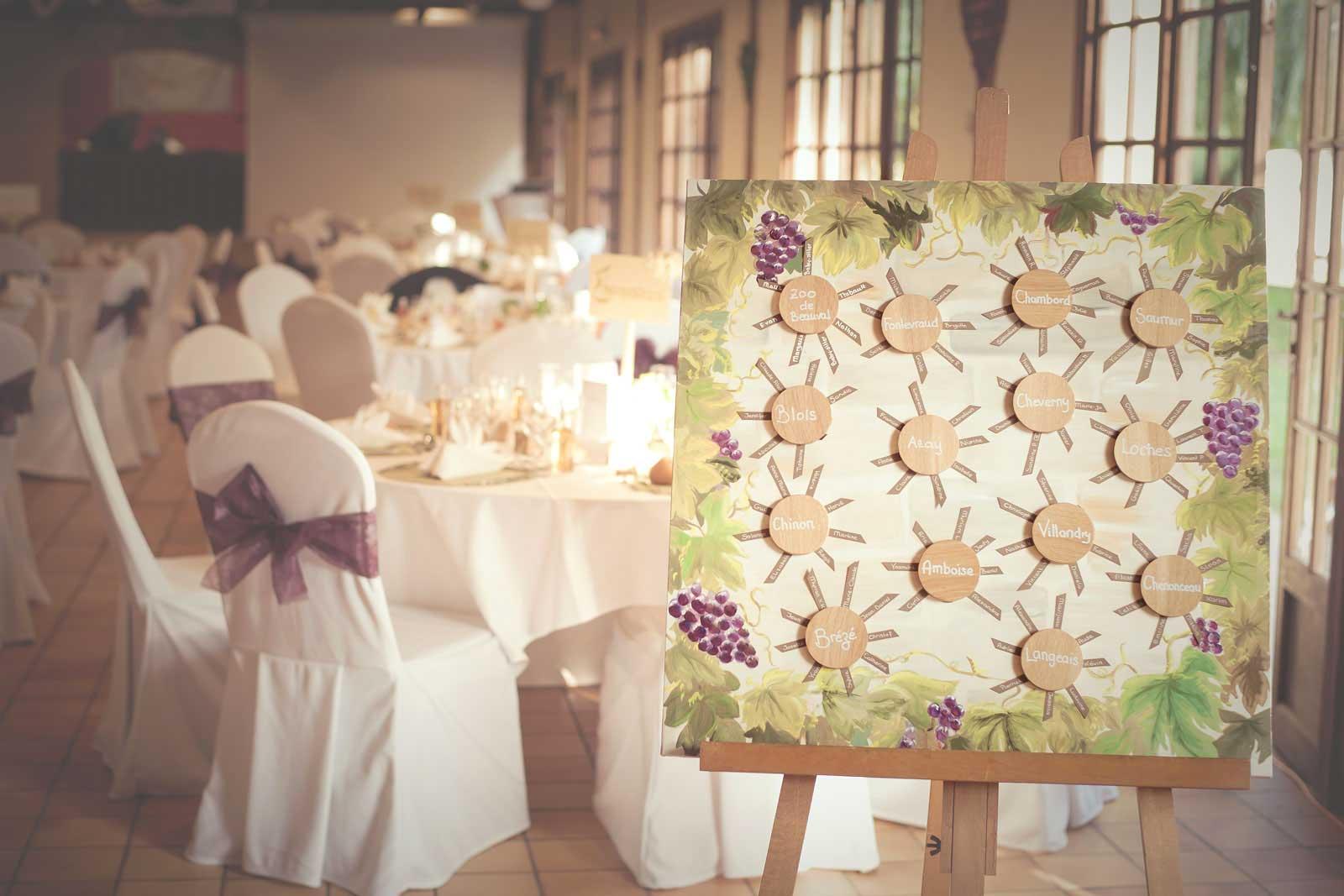 Photo décoration de mariage