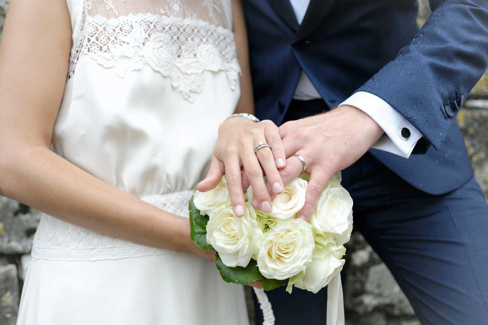 Photo Pack mariage détail alliance