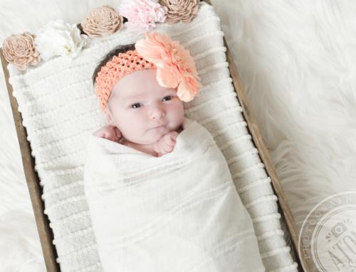 Photos bébé en lumière naturelle