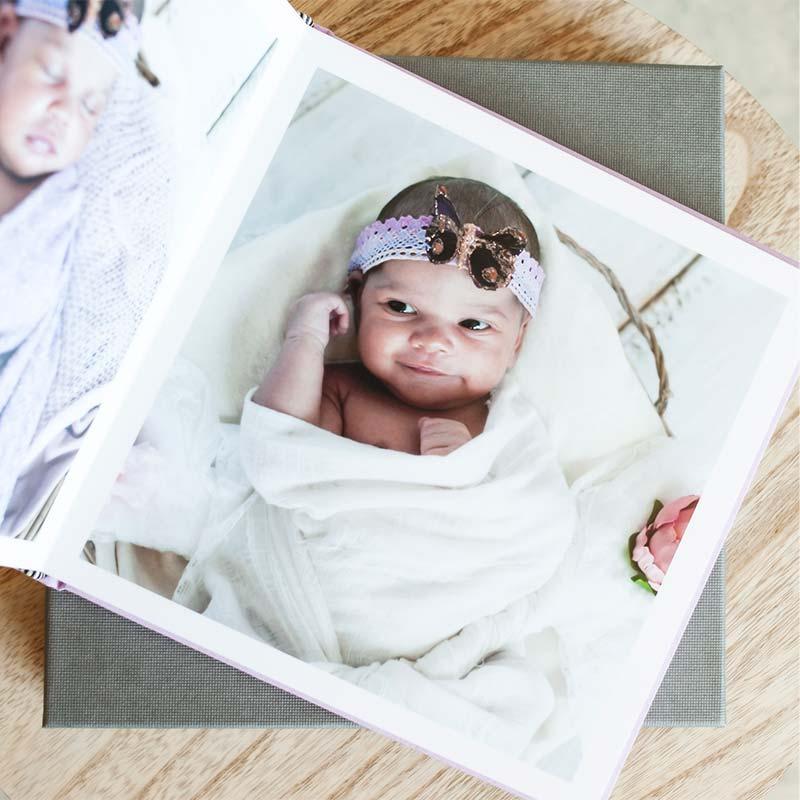 Album naissance Intérieur